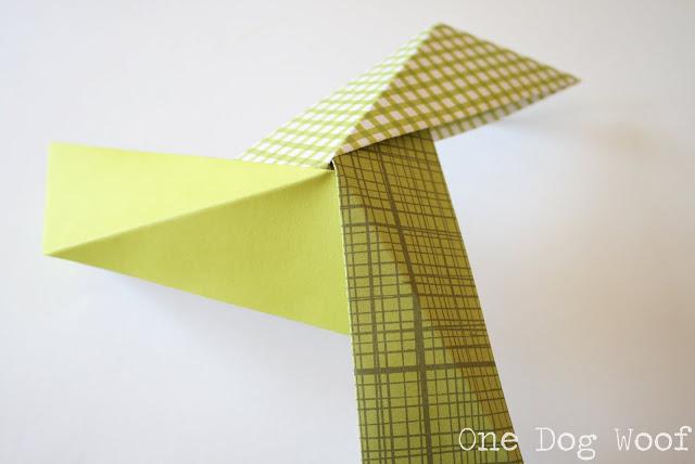 Шар оригами-добавьте третий модуль