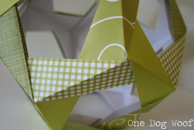 Шар оригами-соберите фигуру