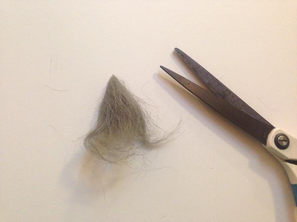 Гномики из фетра-вырежьте бороду