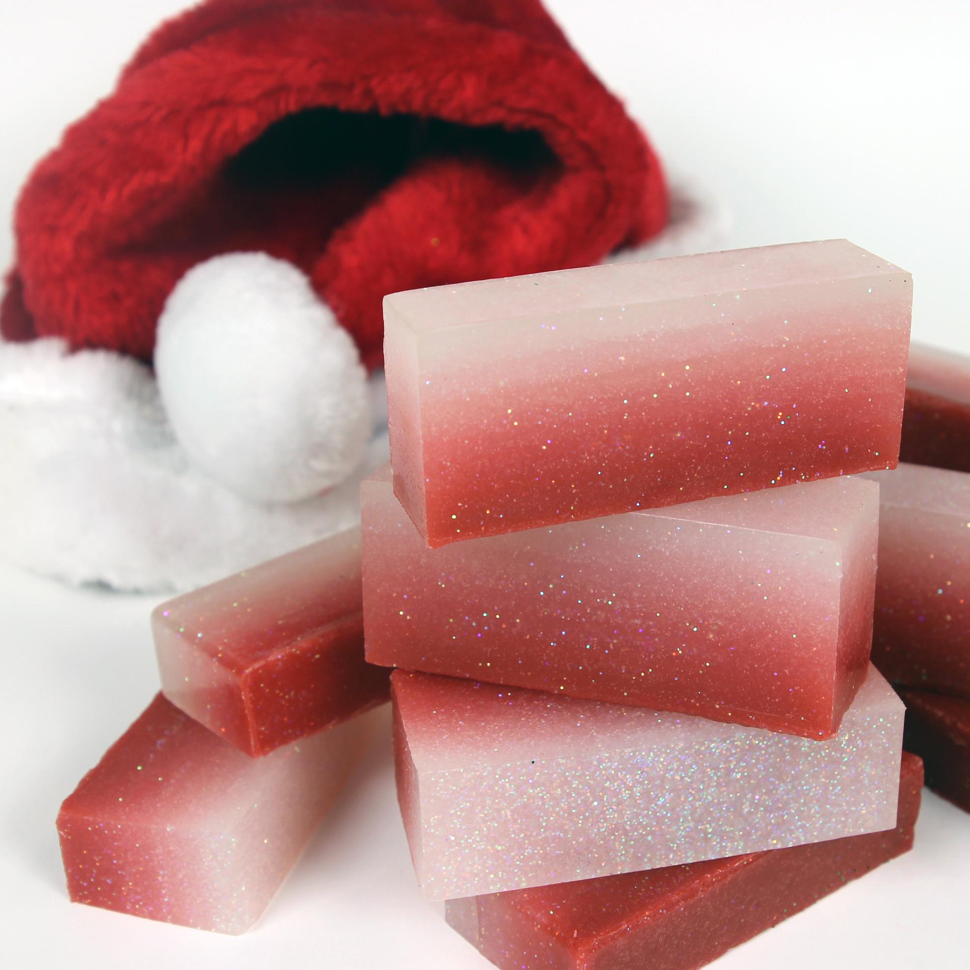 Домашнее мыло-порежьте на бруски
