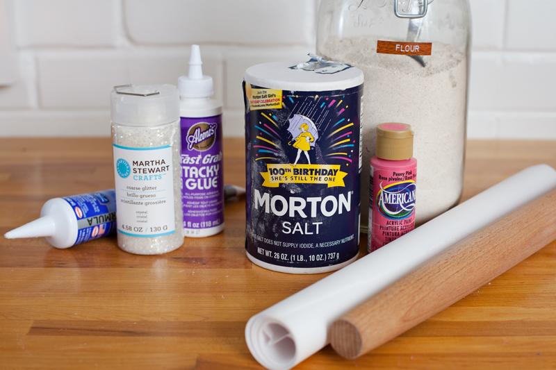 Домик из соленого теста-материалы