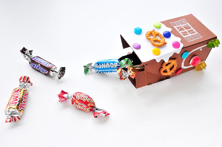 Коробочка для сладостей-положите конфеты