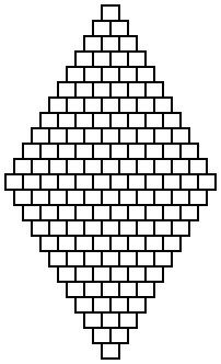 Браслет из бисера для начинающих-шаблон