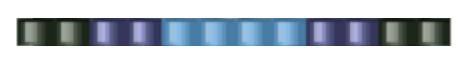 Браслет из бисера для начинающих-цвета для первого ряда