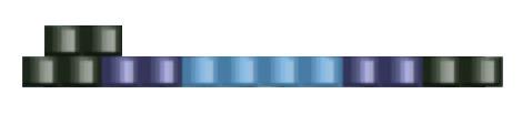 Браслет из бисера для начинающих-цвета для второго ряда