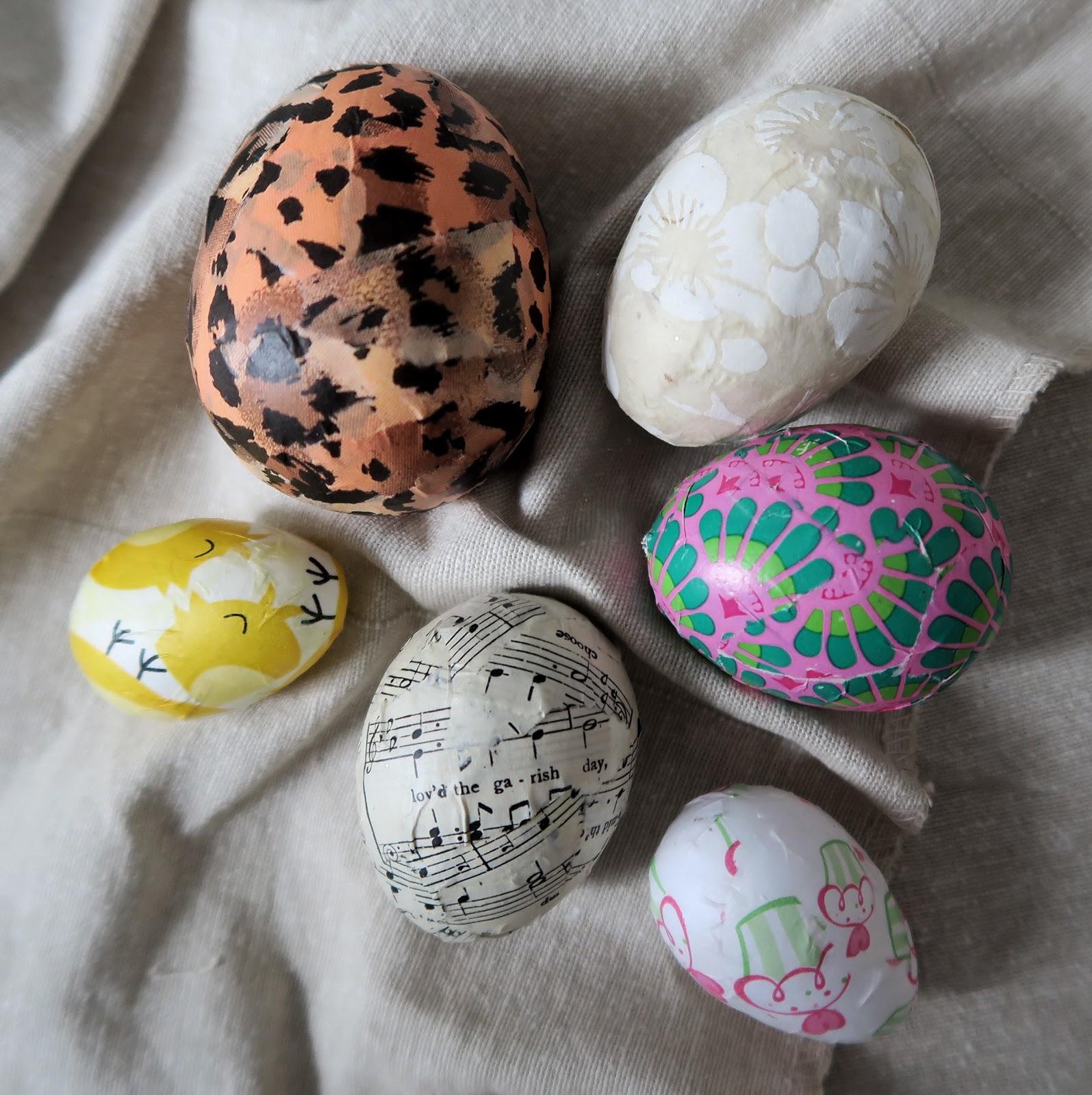 Украшаем пасхальное яйцо своими руками 77