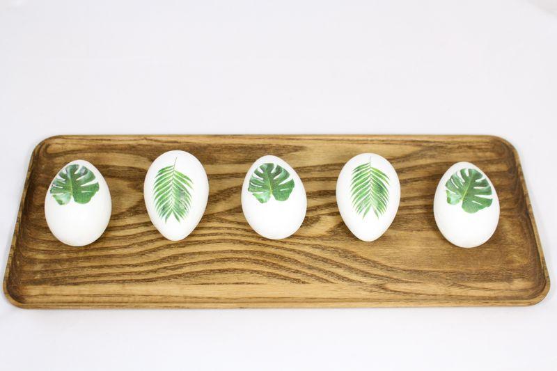 Декор пасхальных яиц фотографиями