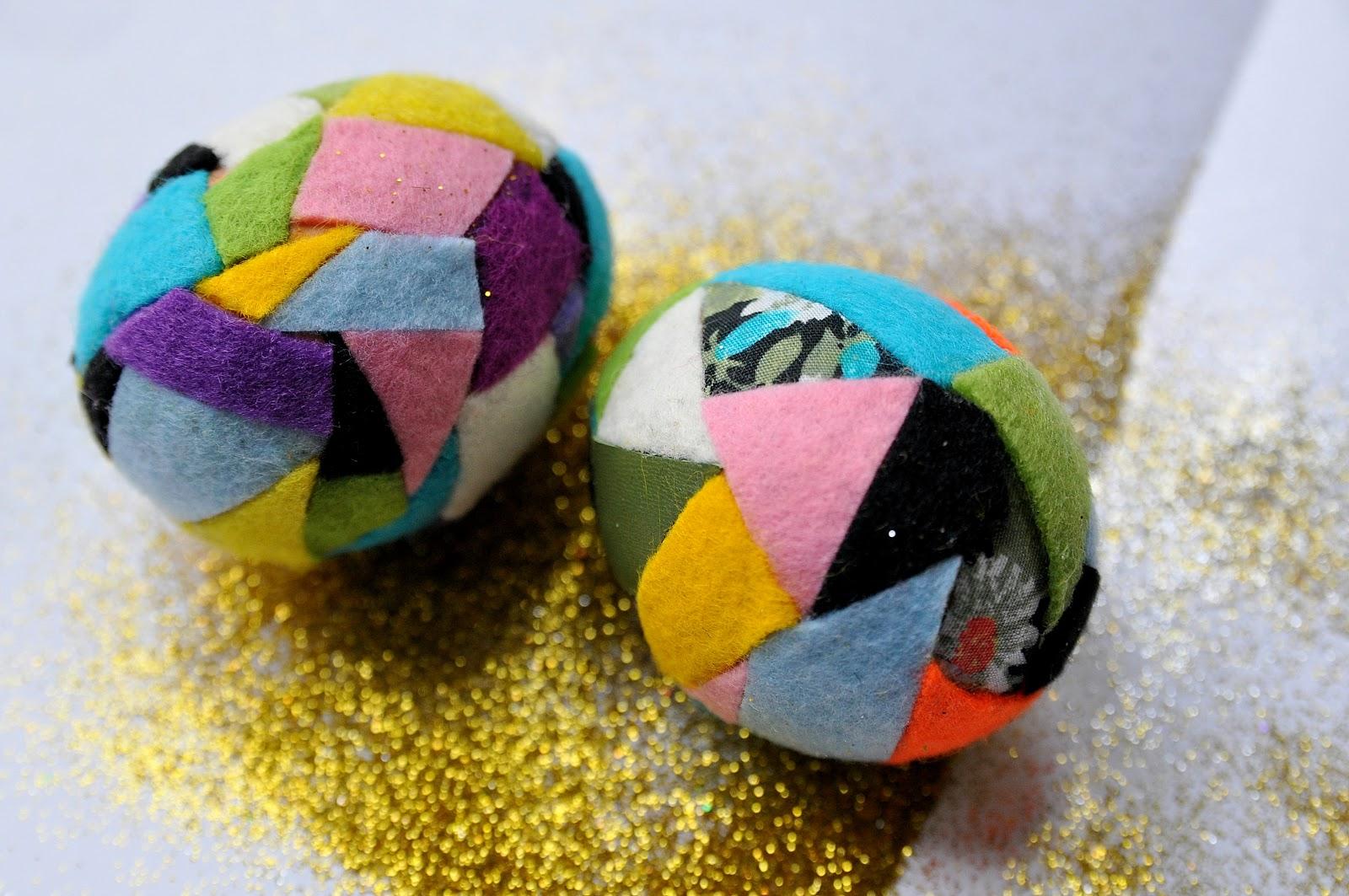 Декор пасхальных яиц-украшение фетром