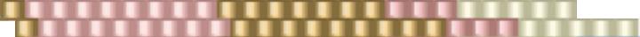 Кулон треугольник из бисера-цвета 2 ряда