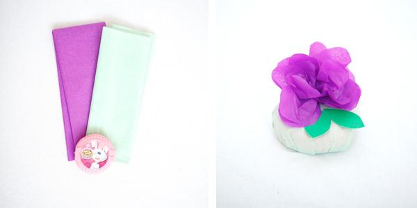 Пасхальные корзинки-сформируйте цветок