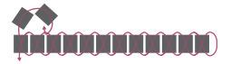Подвеска из бисера-схема уменьшения