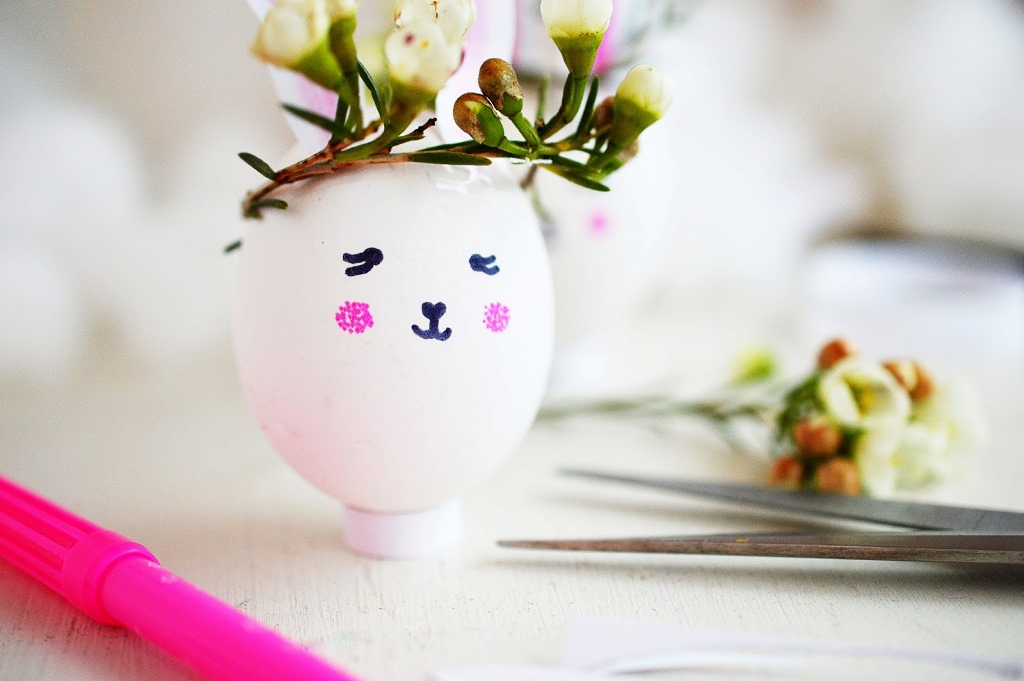 Украшение пасхальных яиц-сделайте подставку