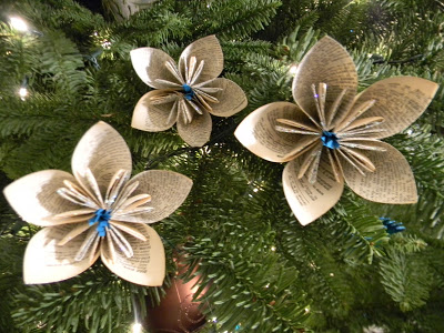 оригами цветок для начинающих