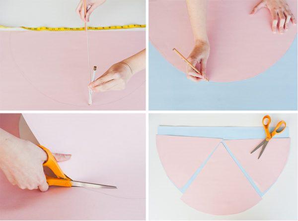 Как сшить декоративную подушку - подготовьте шаблон