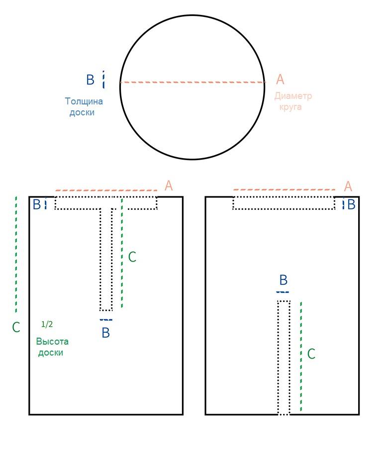 Подставка для цветов - инструкция