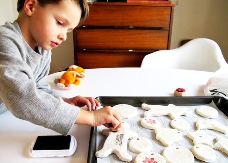 Лепка из соленого теста - изготовьте фигурки