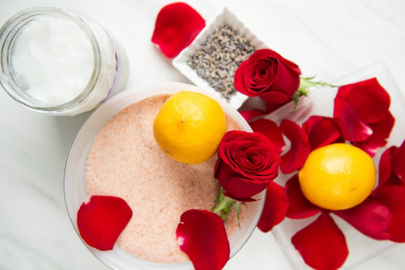 Домашний скраб для тела - ингредиенты