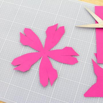 Тюльпаны из бумаги своими руками - вырежьте элементы