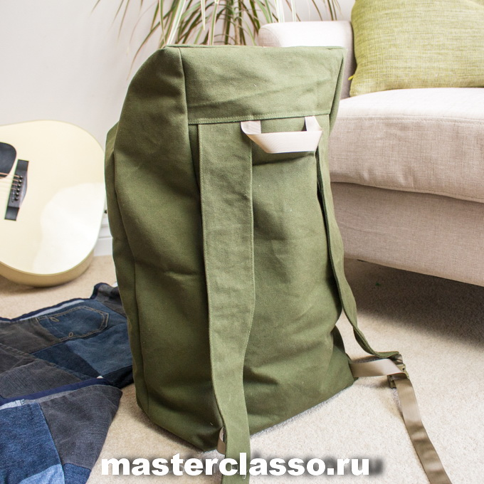 Как сшить рюкзак - готовое изделие