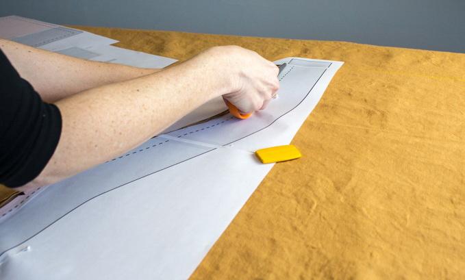 Как сшить фартук своими руками - сделайте выкройку корпуса