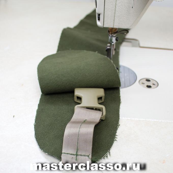 Как сшить рюкзак - сшейте детали вместе