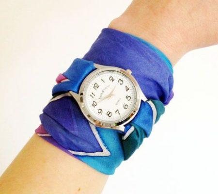 Ремешок для часов из ткани своими руками
