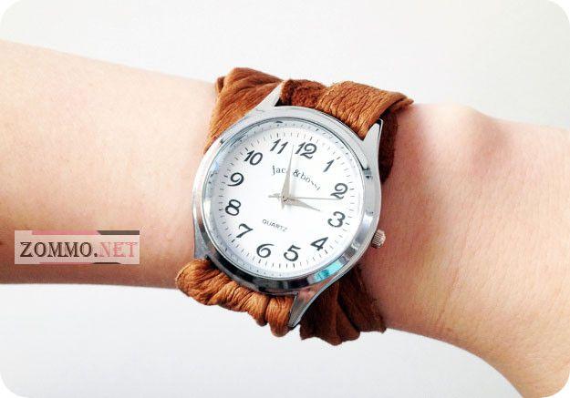 часы с оригинальным ремешком