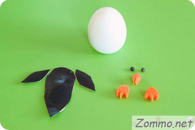 яйцо для изготовления пингвина