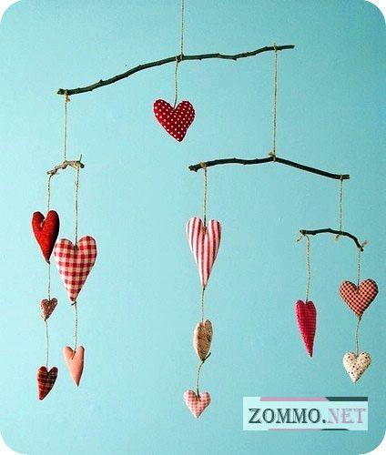 Декоративные сердечки