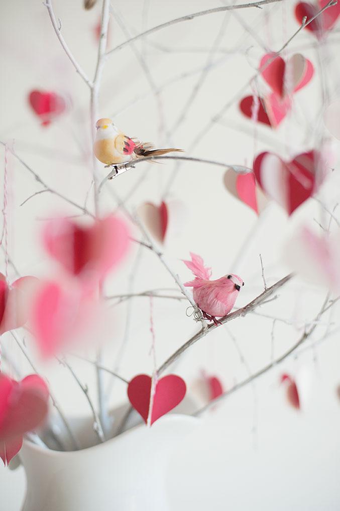 Размещаем на дереве птичек