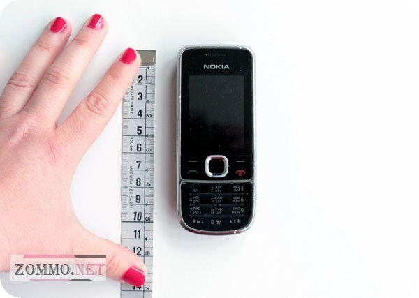 Измеряем мобильный телефон