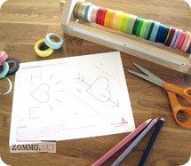 Материалы для создания детской валентинки