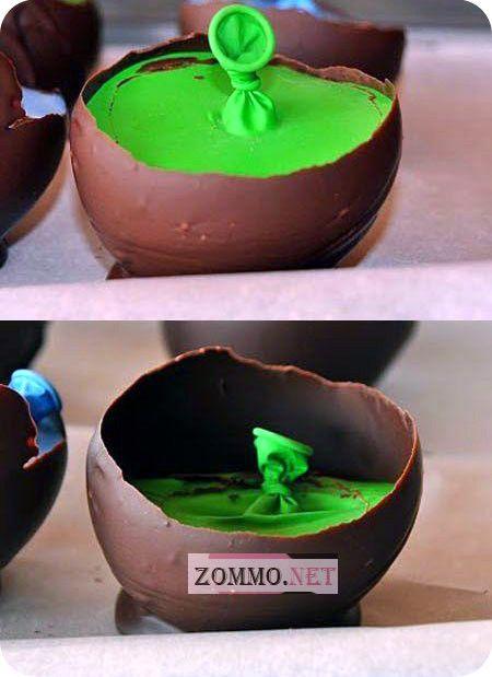 Клубника со сливками в шоколадном кокосе