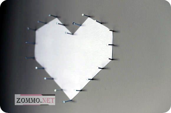 Сердце на стене мастер класс