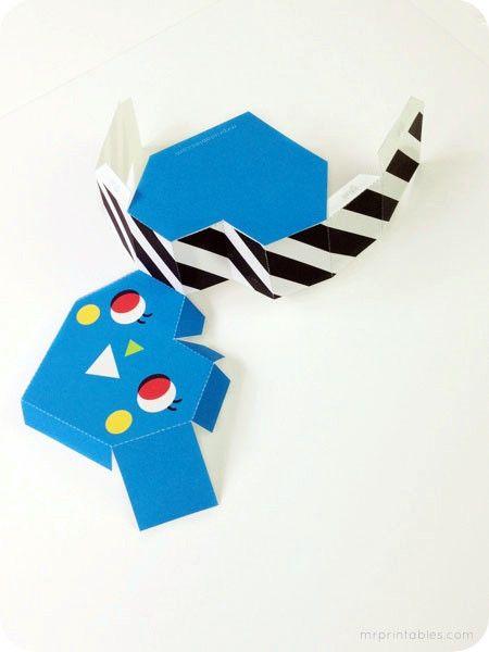 Объемная коробочка оригами шаблон