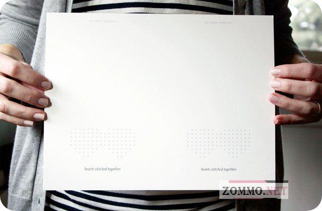 Распечатанный шаблон валентинки