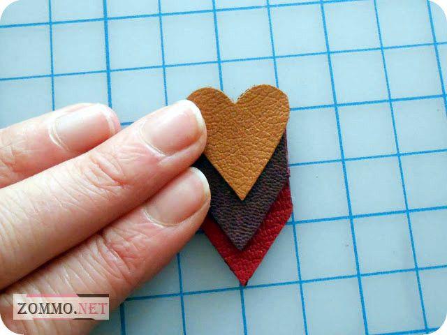 Сердце в сердце шаблон
