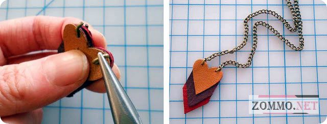 Ожерелье с цепочкой