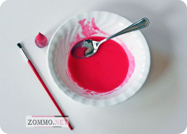Пищевая краска для посуды