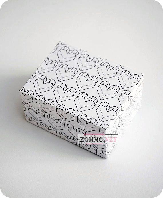 оберточная бумага для подарка на день святого валентина
