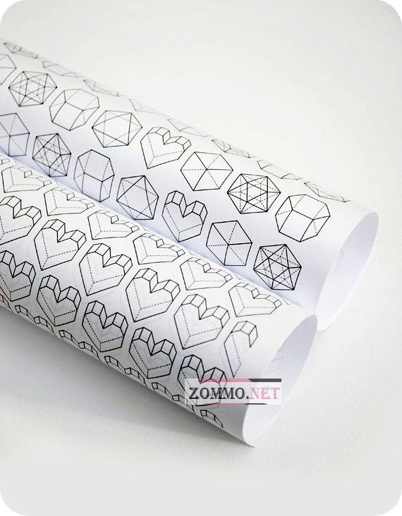 Подарок в оберточной бумаге