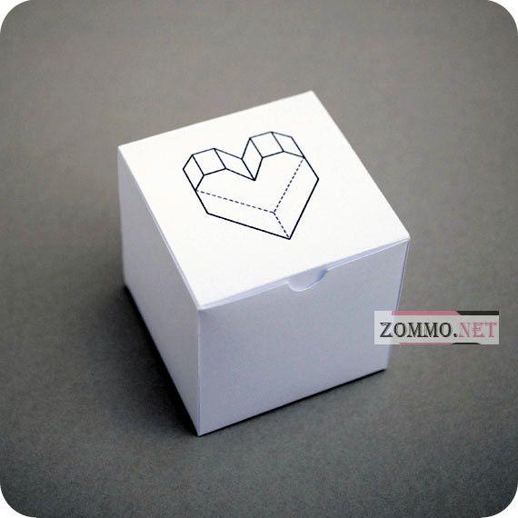 подарочная коробка из бумаги своими руками