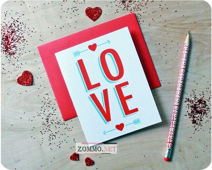 Валентинка любовь