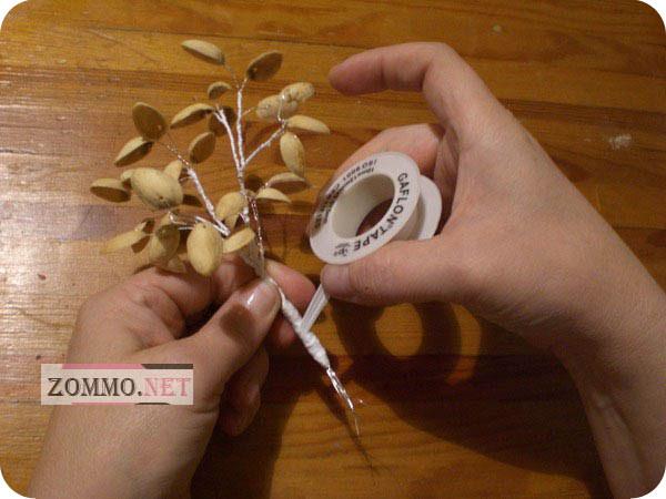 Делаем денежное дерево - топиарий