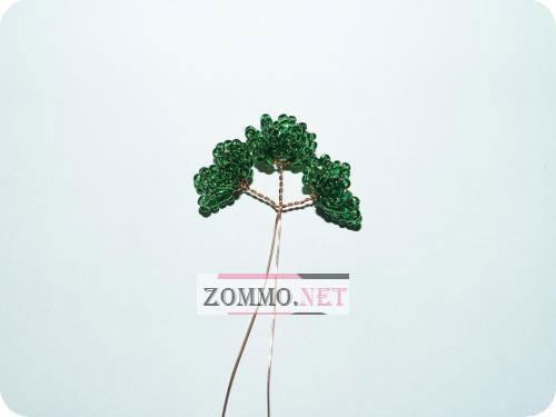 Веточка из бисера для дерева