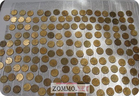 Дырочки в монетках своими руками