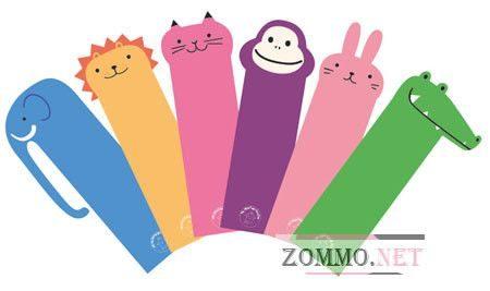 Закладки для книг для детей своими руками