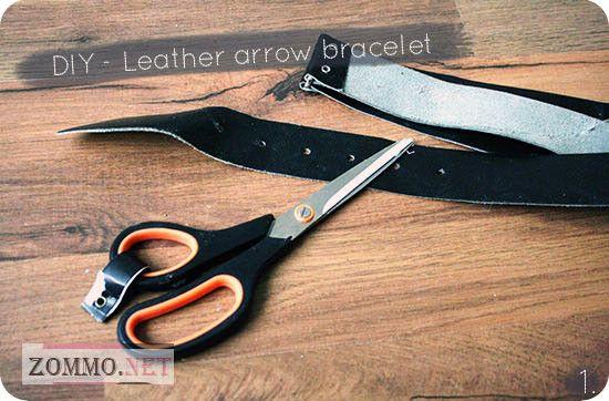 Инструменты и материалы для создания браслета со стрелами
