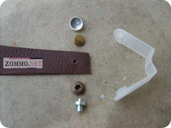 Инструменты и материалы для вставки кнопок