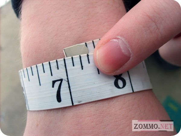 Измеряем длину запястья